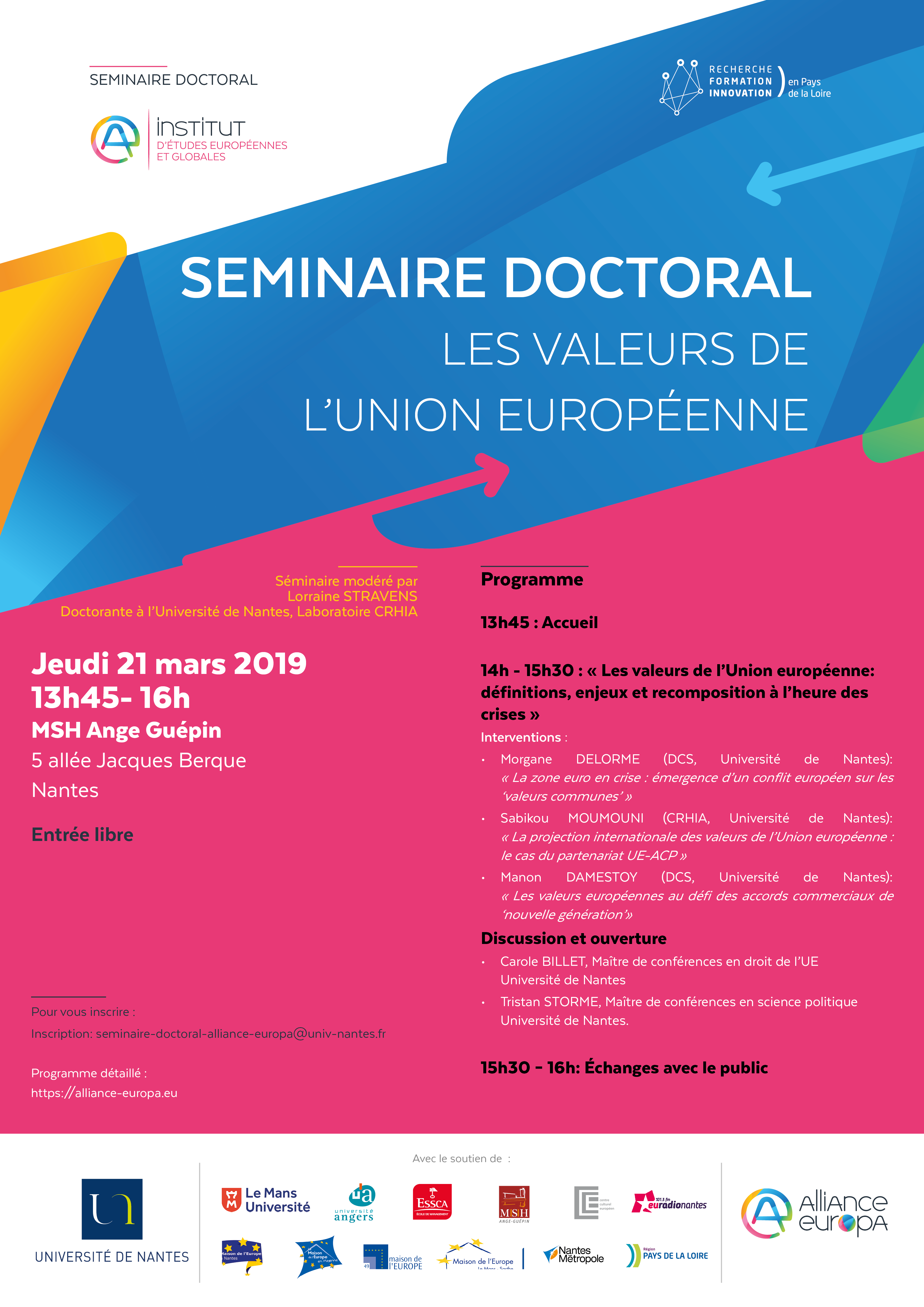 Séminaire doctoral AE 210319